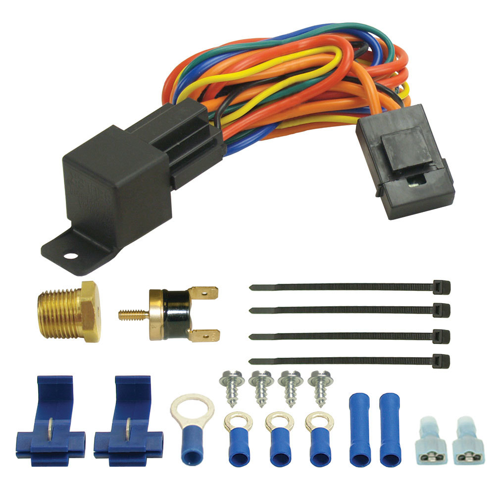Derale Fan Controller With Pipe Thread Probe