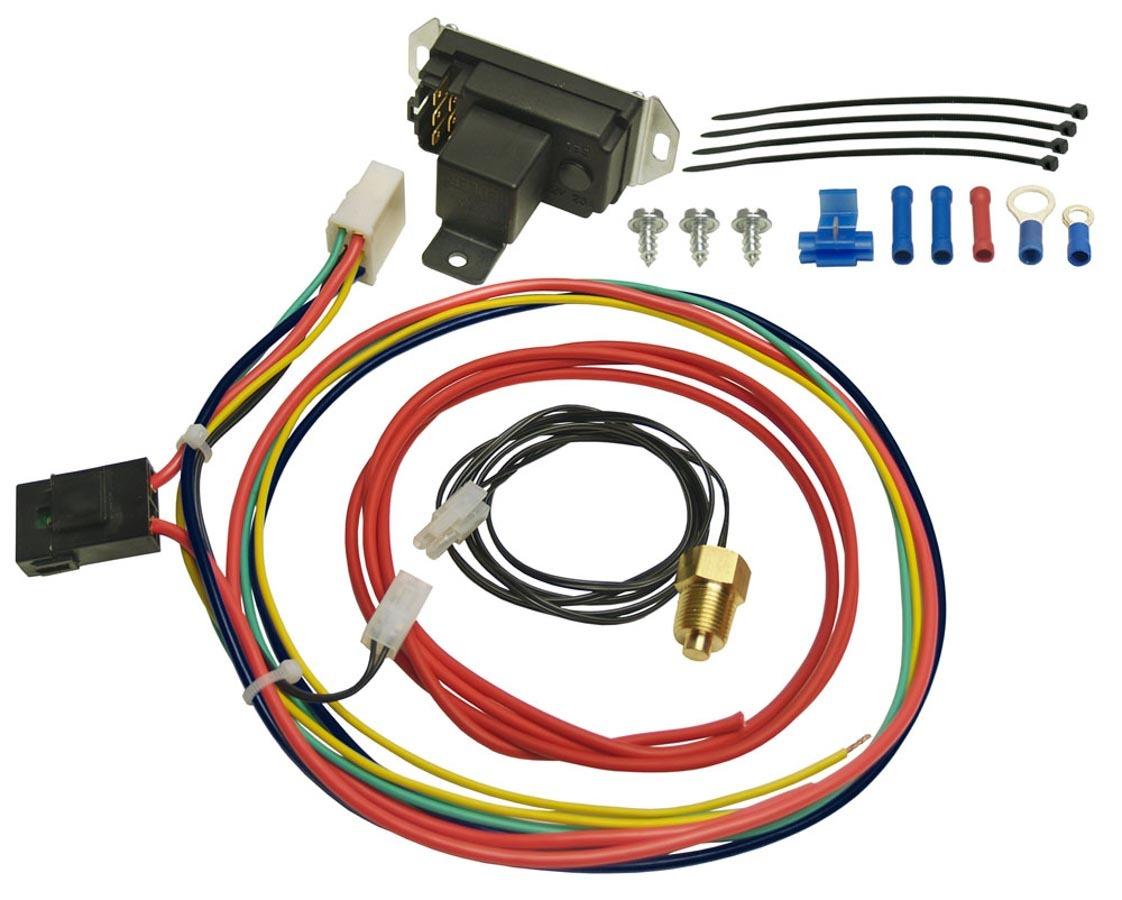 Derale Adjustable Fan Controler w/Pipe Thread Probe