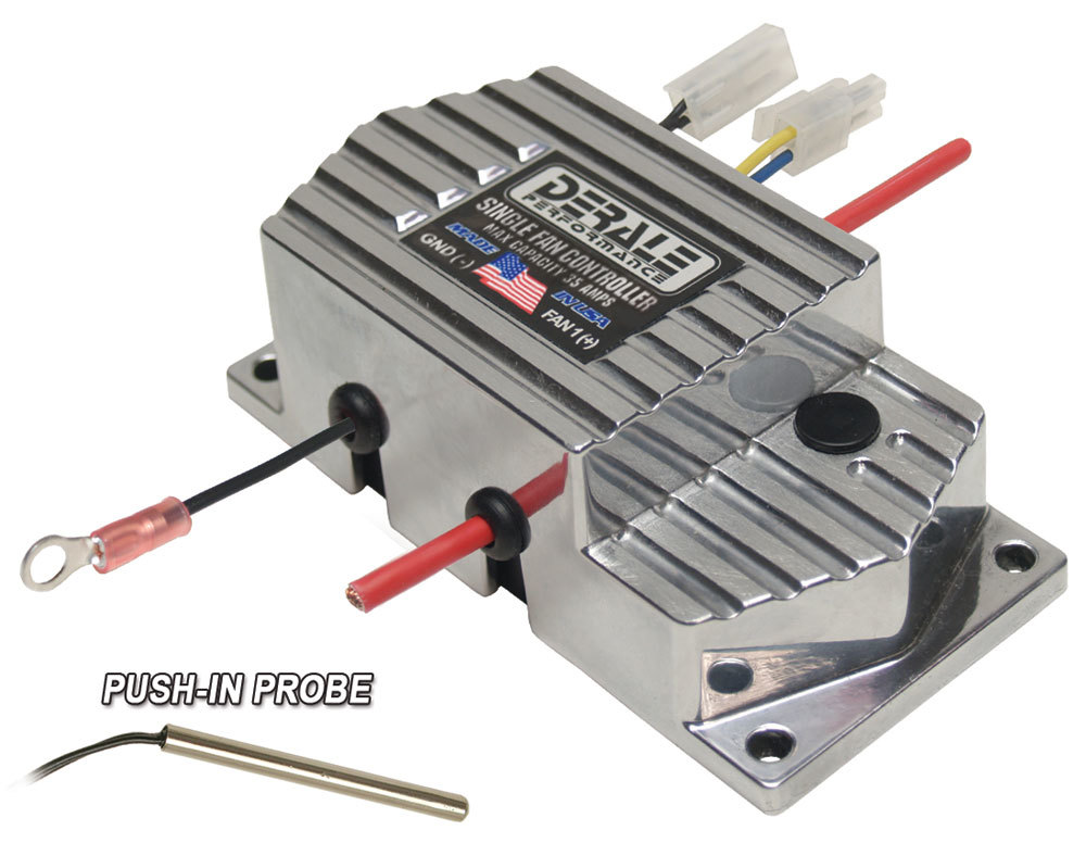Derale Single Fan Controller Adjustable 150-240