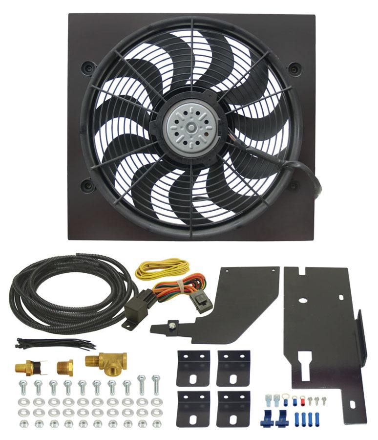 Derale 86-06 Wrangler Electric Fan Kit