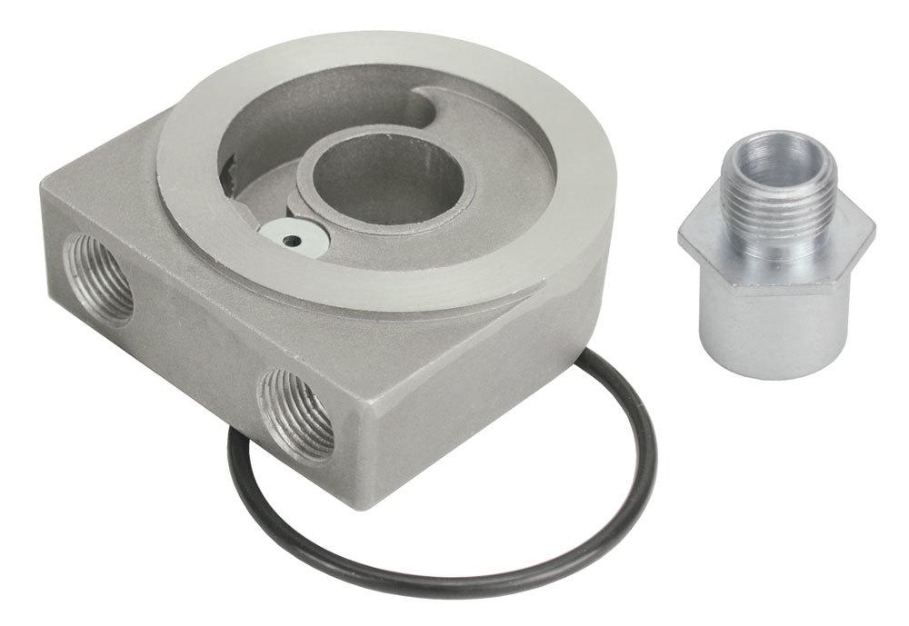 Derale Low Profile Sandwich Adapter w/Pressr Relief
