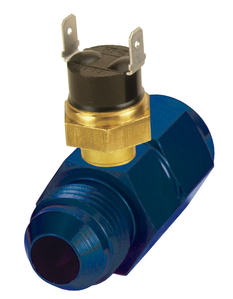 Derale In Line Fluid Thermostat 8an 180 Degree