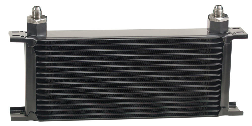 Derale 16 Row Core 5in. Tall -6an Inlets Trans/Oil Co