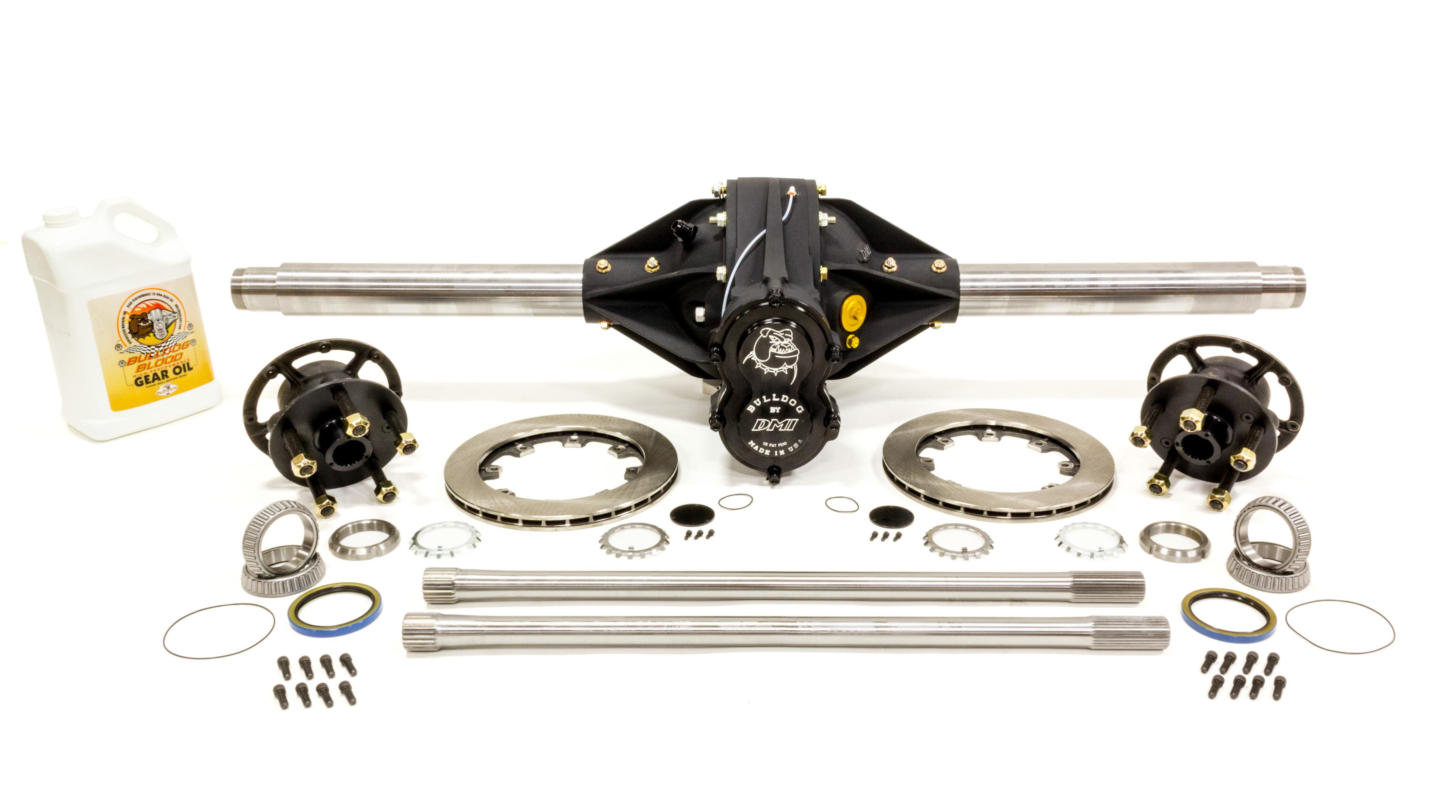 Diversified Machine Q/C Rearend Pro 4.86 w/ Tubes Hubs Rotors Hollow