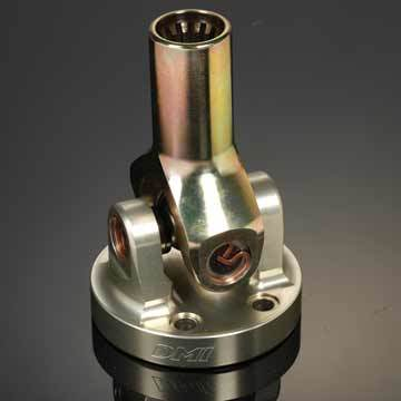 Diversified Machine 2K11 U-Joint Assy. H.D. Billet Steel/Alum Glad U