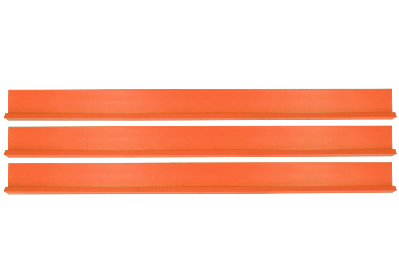 Dominator Racing Products Dirt Rocker Set Flou Orange 3pc