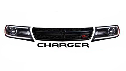 Dominator Racing Products Nose Graphics Charger