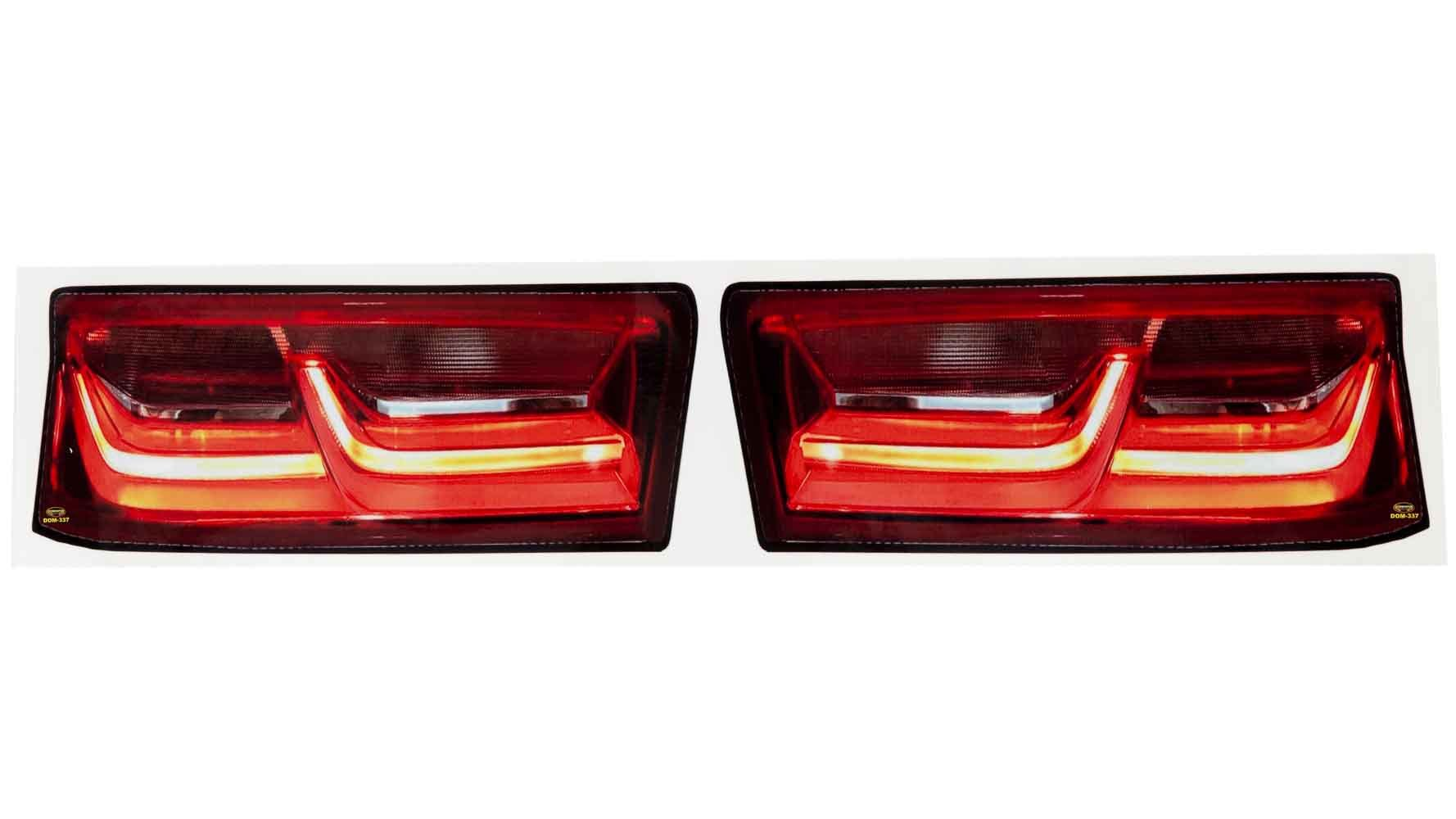 Dominator Racing Products Decal Taillight Camaro SS