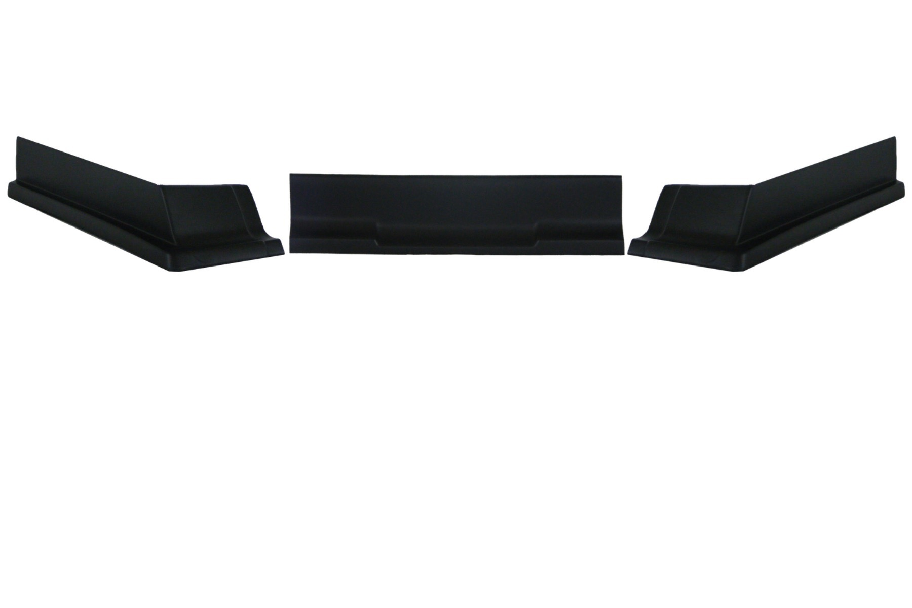 Dominator Racing Products Valance Modified IMCA 3pc Black