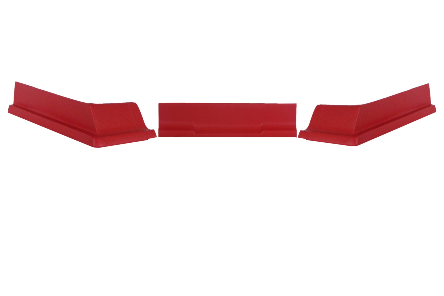 Dominator Racing Products Valance Modified IMCA 3pc Red