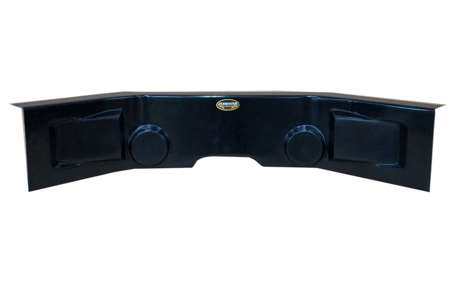 Dominator Racing Products Dash Panel Flat Black 30in Wide