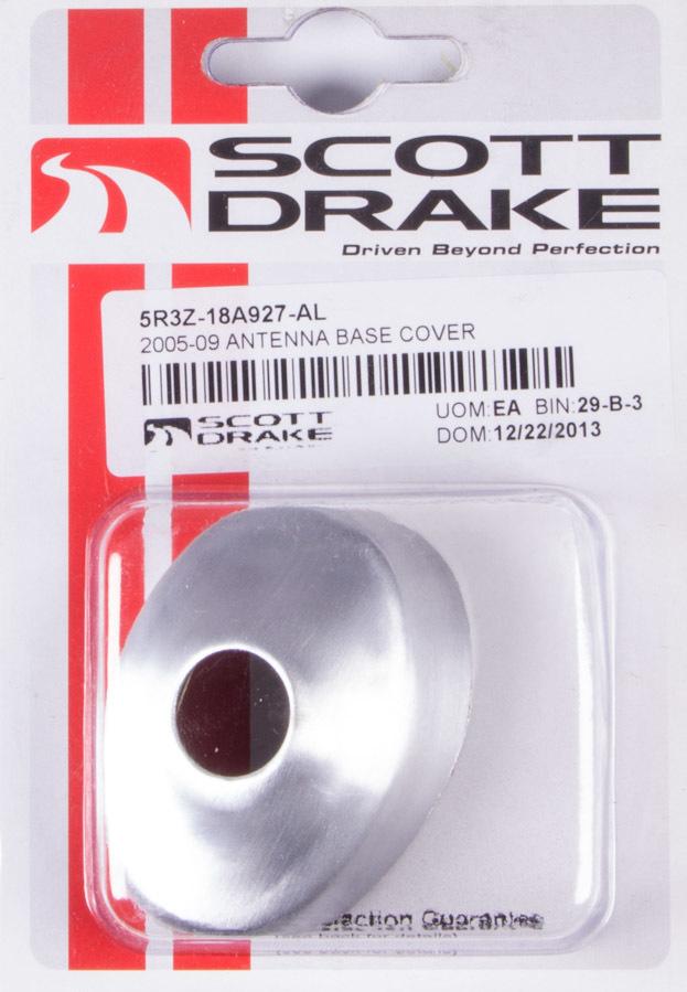 Drake Automotive Group Antenna Base Cover 05-09 Mustang Satin