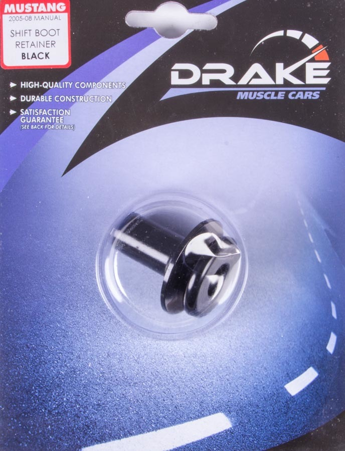 Drake Automotive Group Shifter Boot Retainer Black 05-09 Mustang