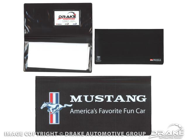 Drake Automotive Group Owner-s Manual Wallet - Mustang