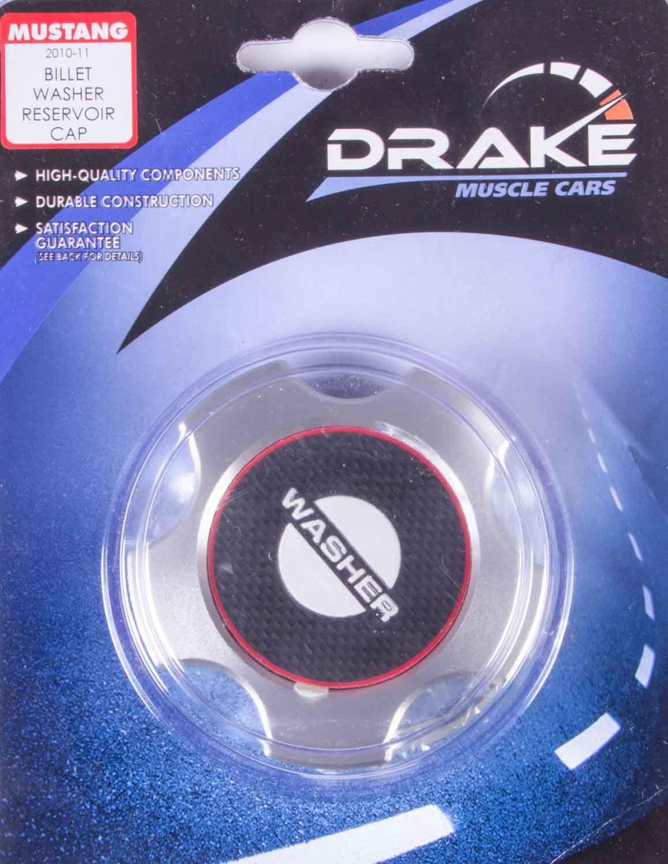 Drake Automotive Group Washer Fluid Cap Billet 05-14 Mustang