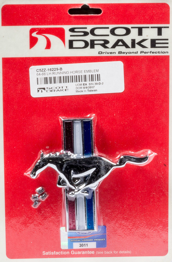 Drake Automotive Group 2005-12 Mustang Running Horse Grille Emblem