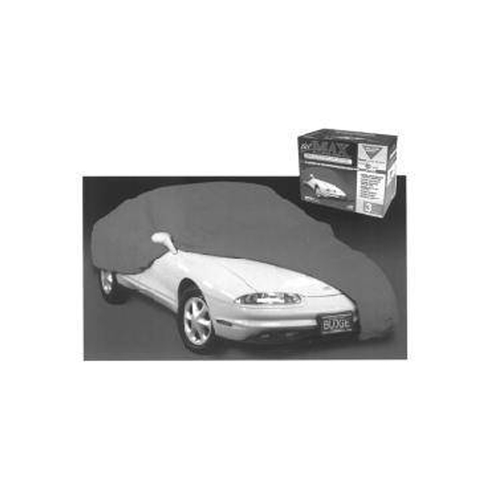 Drake Automotive Group 64-93 Mustang Deluxe Car Cover Gray