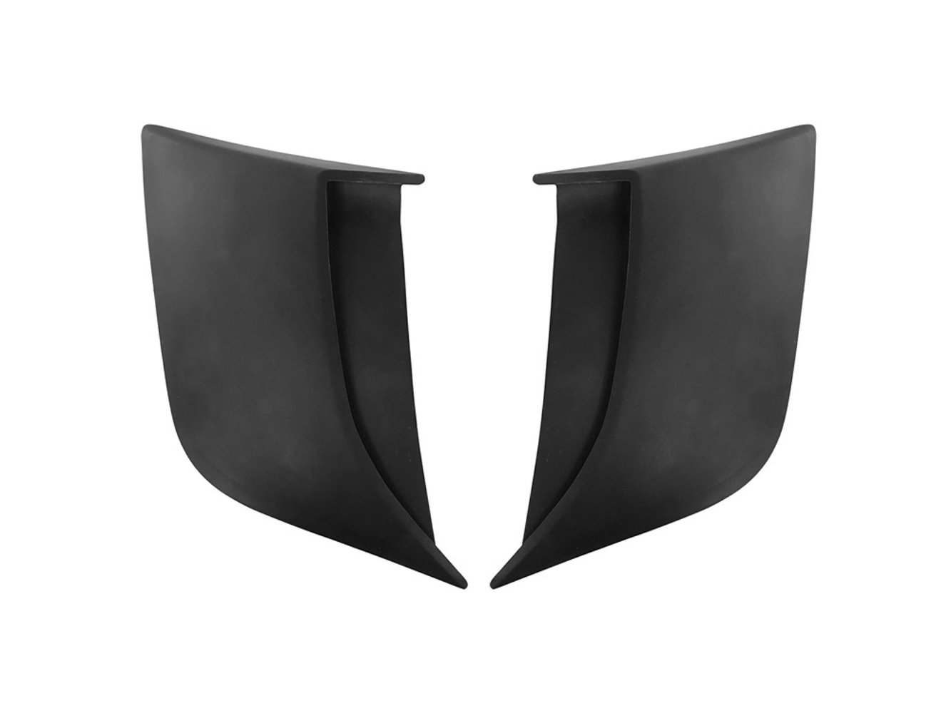 Drake Automotive Group 2015-19 Mustang Lower Qu arter Panel Side Scoops