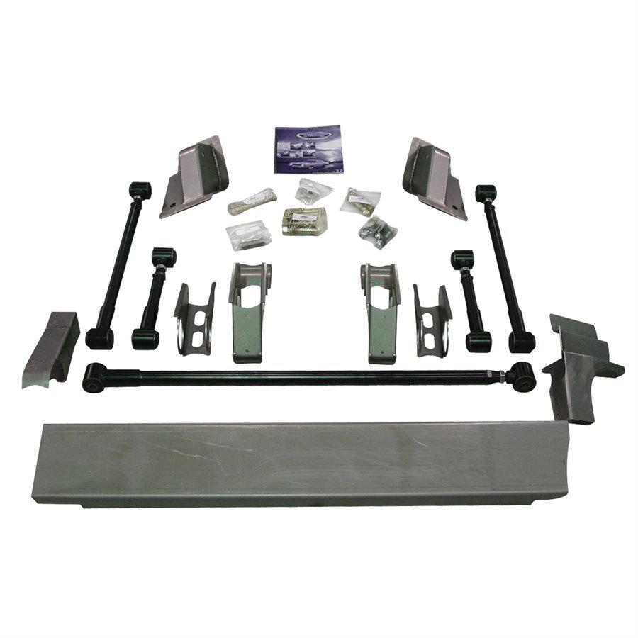 Detroit Speed Engineering Quadralink Suspension Kit 67-69 GM F-Body