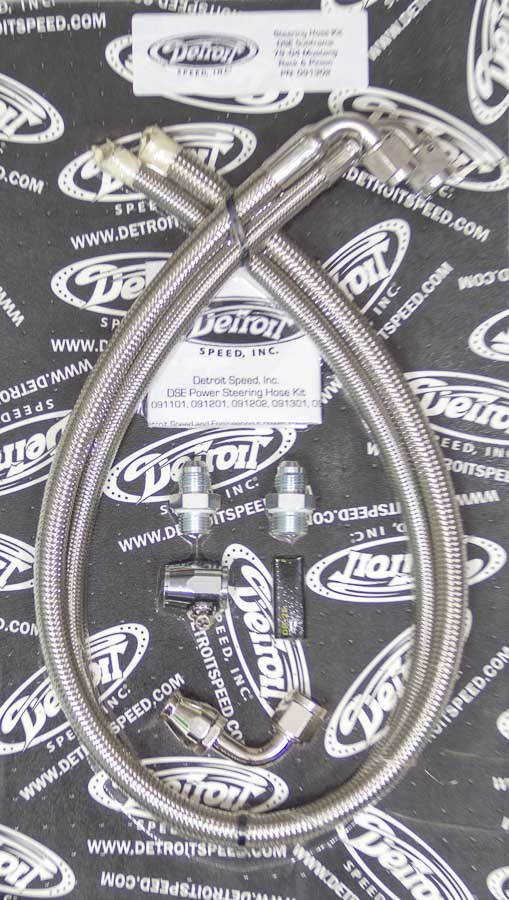 Detroit Speed Engineering P/S Hose Kit - DSE Subframe - 79-04 Ford