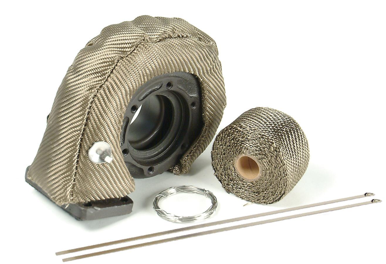 Design Engineering Turbo Insulation Kit Carbon Fiber Look