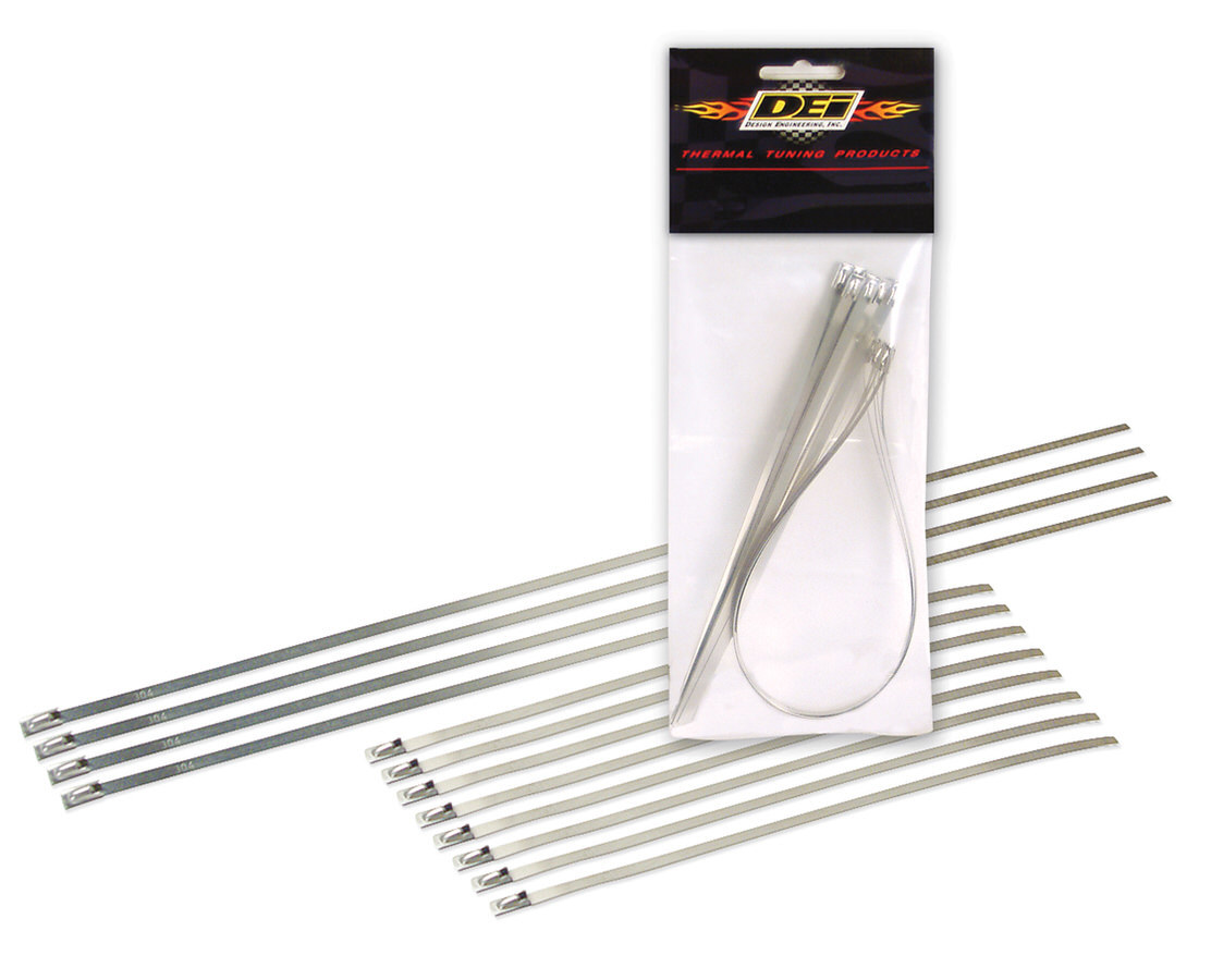 Design Engineering Locking Tie Combo Pack 8-8in and 4-14in