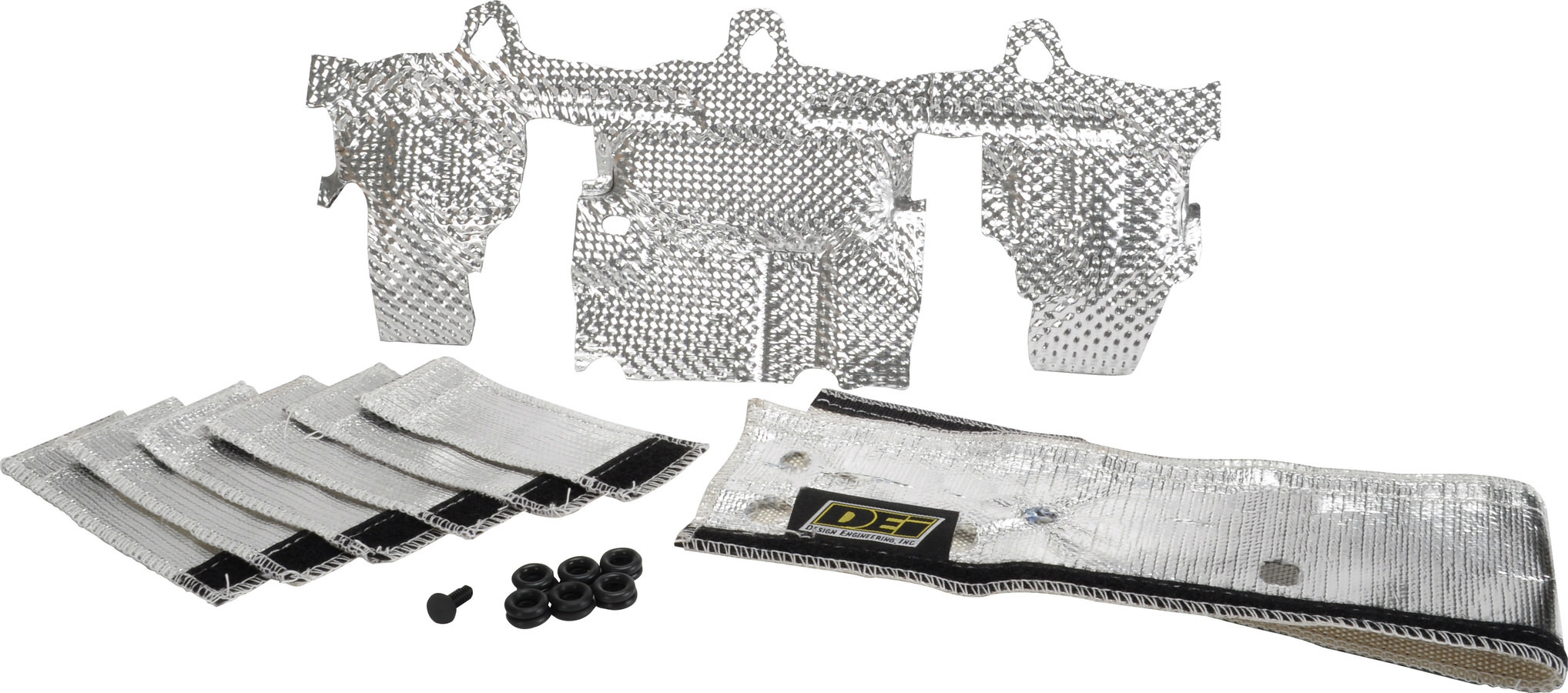 Design Engineering Jeep Fuel Rail & Injecto r Cover Heat Sheild Kit