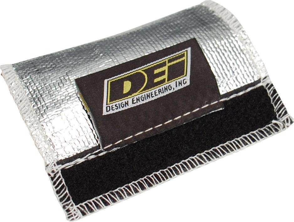 Design Engineering 87-91 Corvette EGR Pipe Heat Shield 4.5 x 4.5in