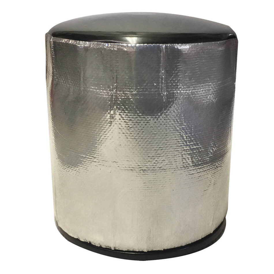 Design Engineering Oil Filter Heat Shield 3.5 x 4.5 x 4 Pack of 3