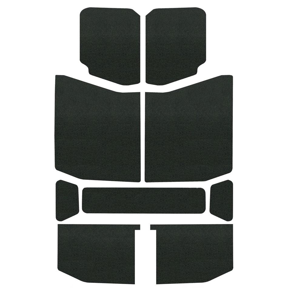 Design Engineering Jeep JL 4 DR 18-   Headl iner Kit Black 9pc