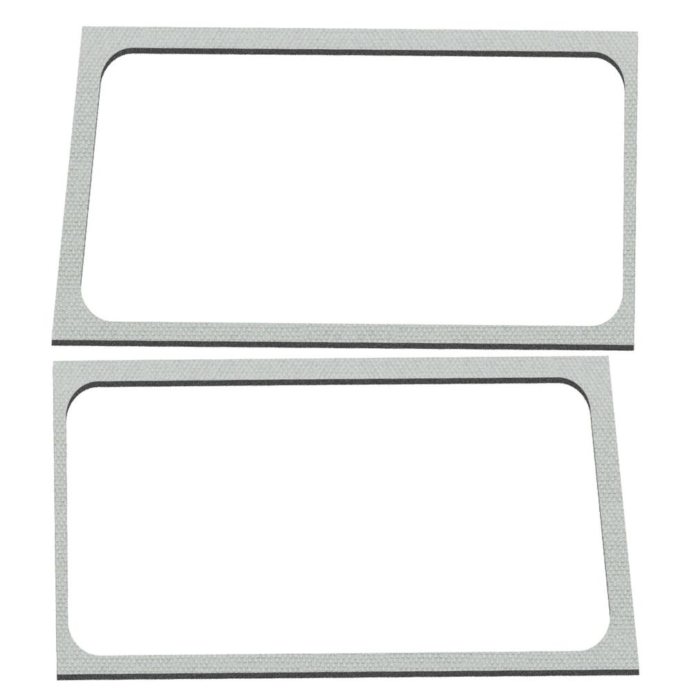 Design Engineering 18-  Jeep Wrangler JL Side Window Kit White