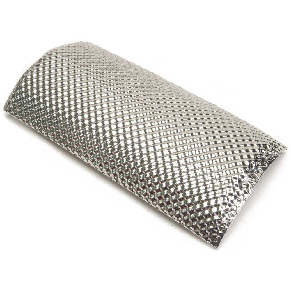 Design Engineering Stainless Pipe Shield 8.5in x 4.5in