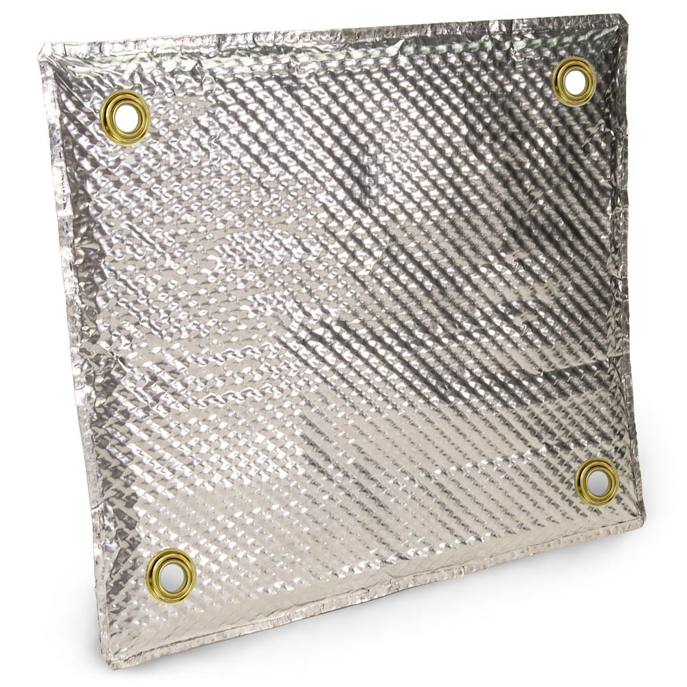 Design Engineering Stainless Pad Shield 12in x 12in
