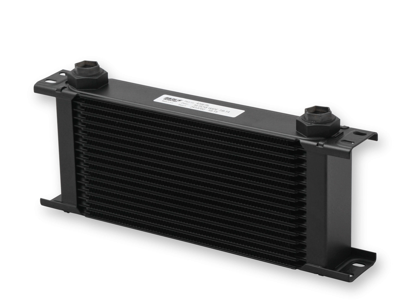 Earls Ultrapro Oil Cooler - 16 Row - Black Finish