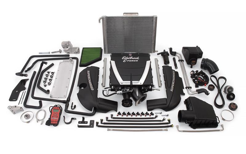 Edelbrock E-Force Supercharger Kit Camaro V8 10-14 w/Auto
