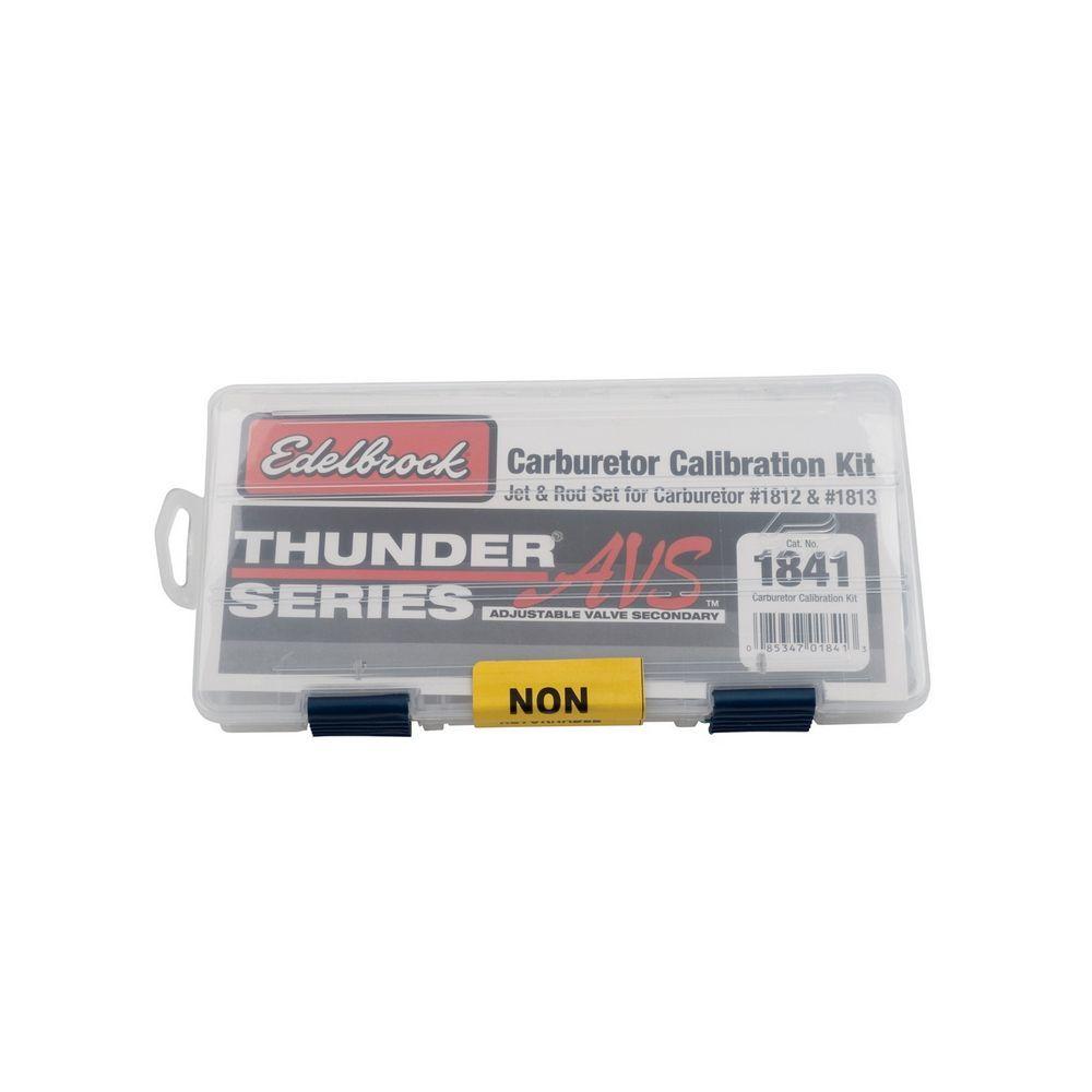 Edelbrock Calibration Kit for Thunder Series AVS Carbs