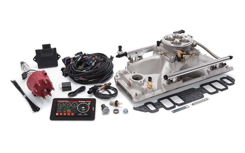 Edelbrock Pro-Flo 4 EFI Kit  BBC w/Rect Ports 625 HP