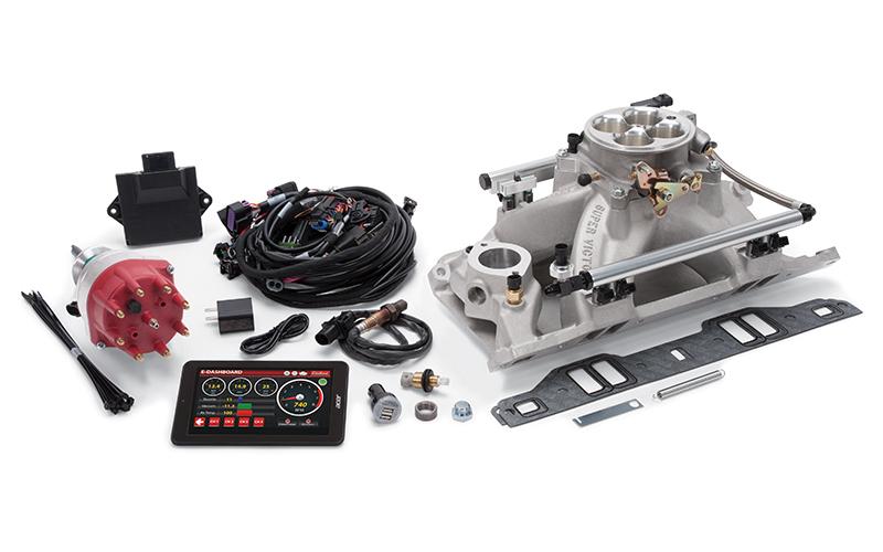 Edelbrock Pro-Flo 4 EFI Kit  SBM 318-360 625 HP
