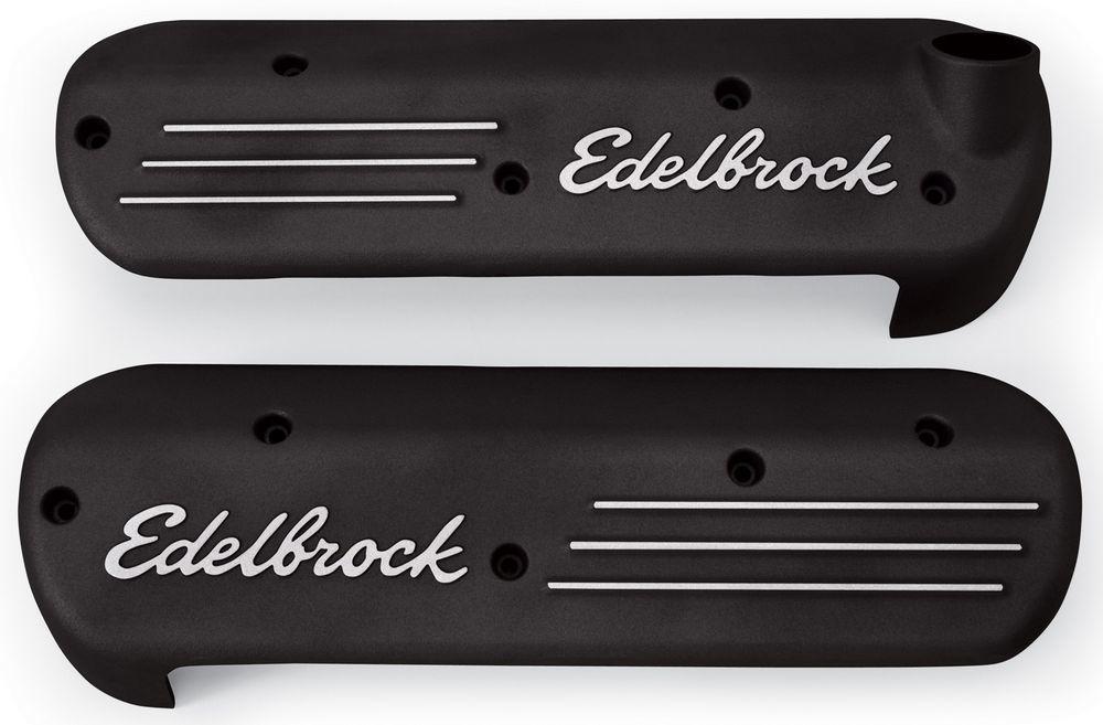 Edelbrock GM LS1 Coil Covers - Black