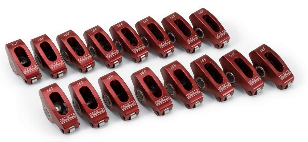 Edelbrock SBF Roller R/A Set - 1.6 Ratio 3/8 Stud