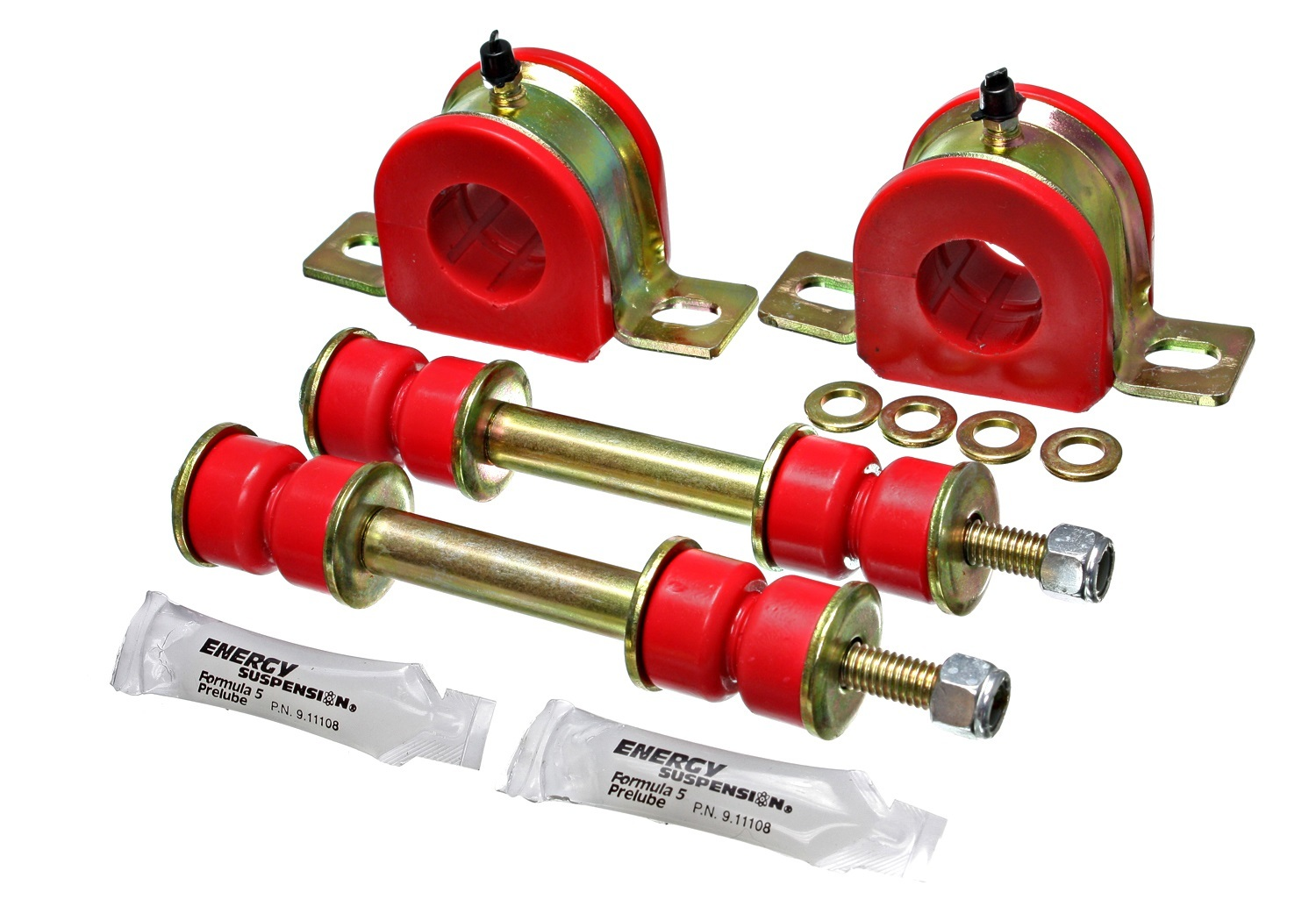 Energy Suspension 1-1/4In Gm Greaseable Sw Ay Bar Set