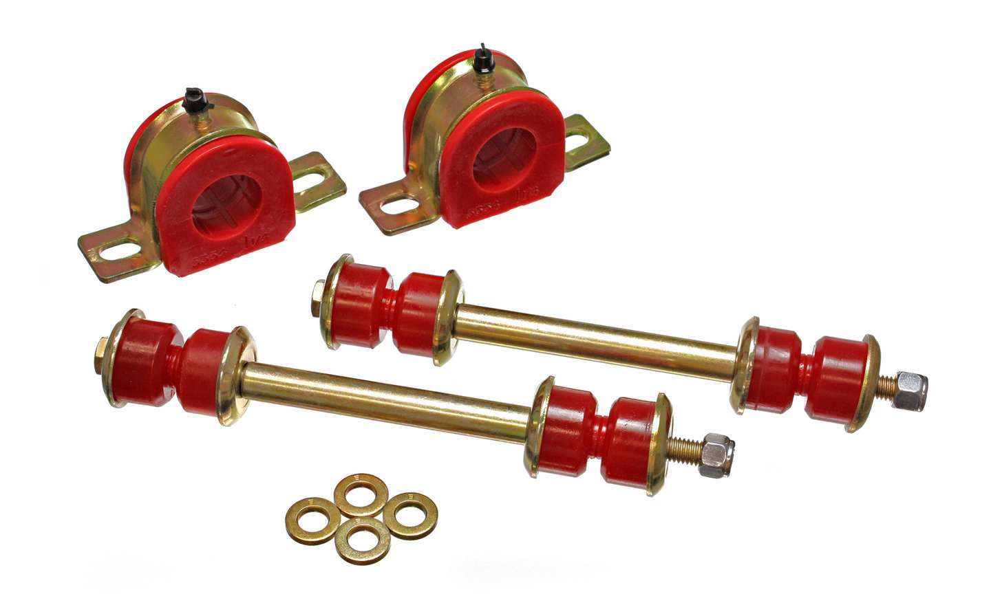 Energy Suspension Front Sway Bar Bushing Set 32MM Red