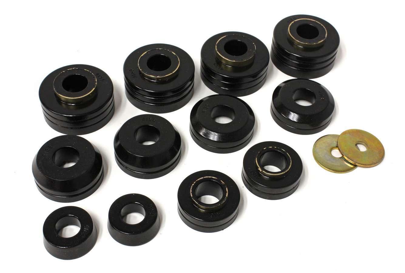 Energy Suspension Ford Body Mounts - Black