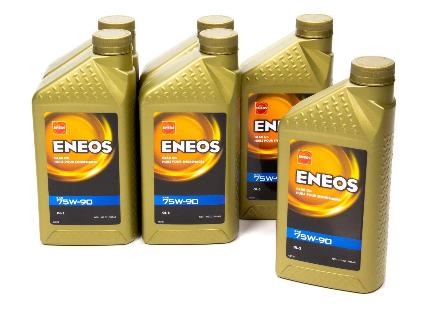 Eneos Gear Oil 75W90 6 X 1 Qt