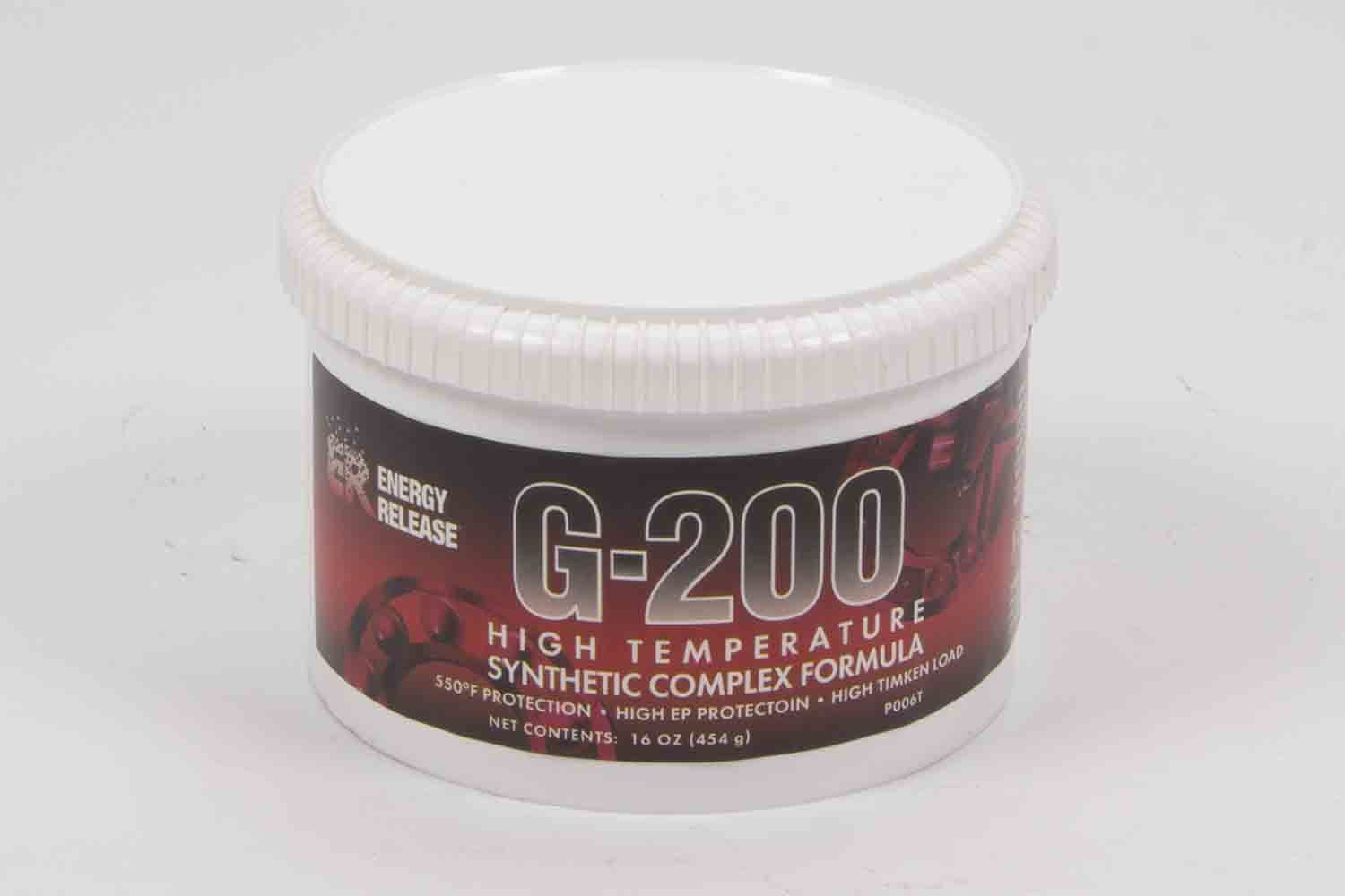 Energy Release G-200 Grease Hi-Temp 16oz Tub Synthetic