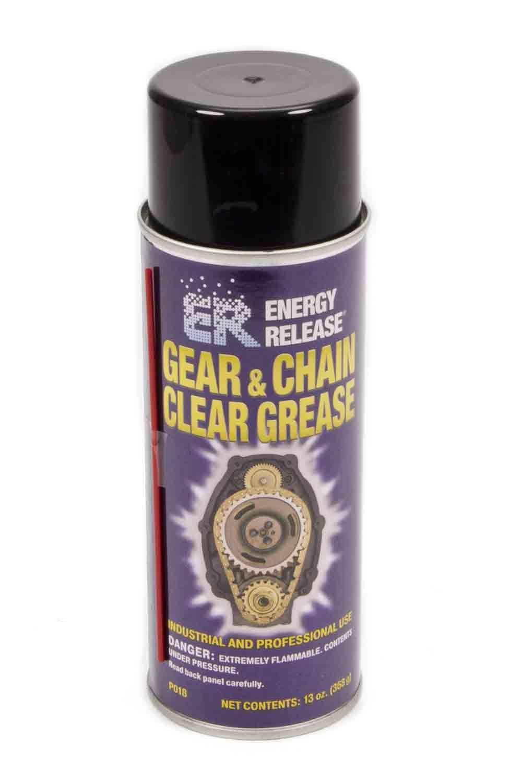 Energy Release Gear & Chain Clear Greas e 13oz Aerosal