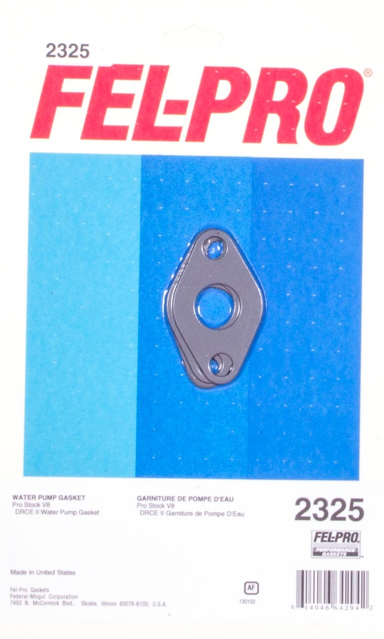 Fel-pro Water Pump Gasket - BBC High Density Fiber