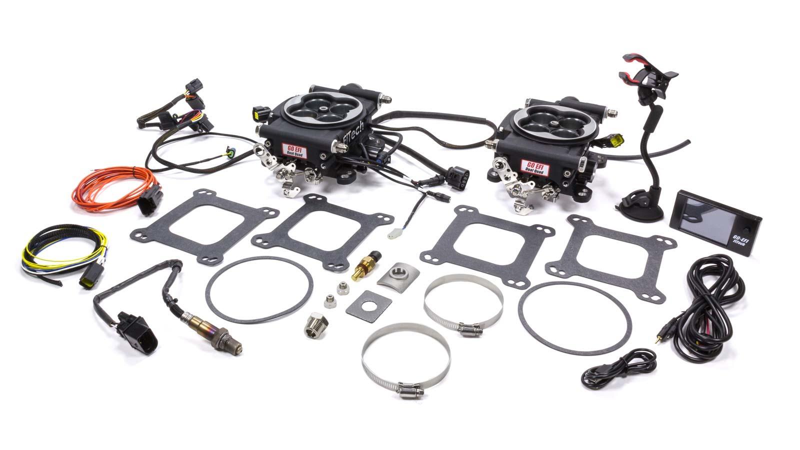 Fitech Fuel Injection GO EFI 2x4 625hp Kit Matte Black