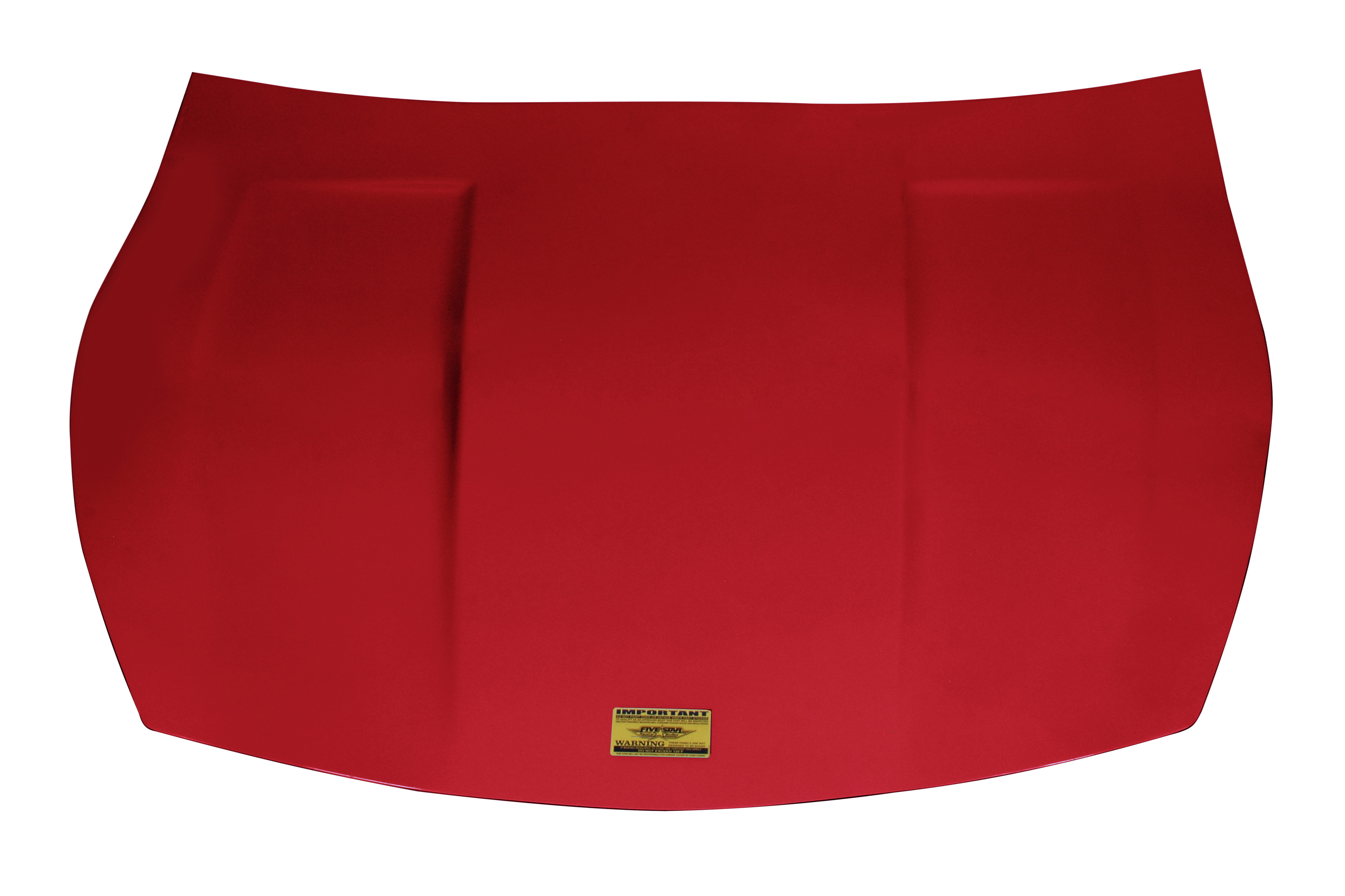 Fivestar 2019 LM Hood Hand Laid Fiberglass Red