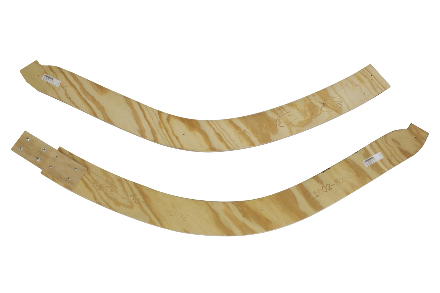 Fivestar 2019 LM Nose Template Side to Side Common Wood